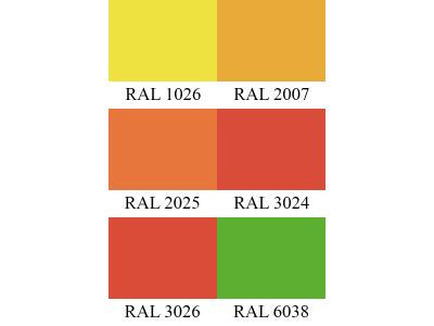 Флюоресцентные цвета GraviHEL